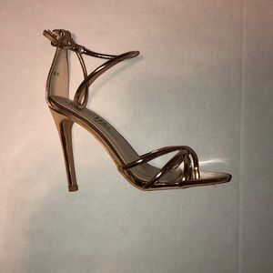 Gold heels